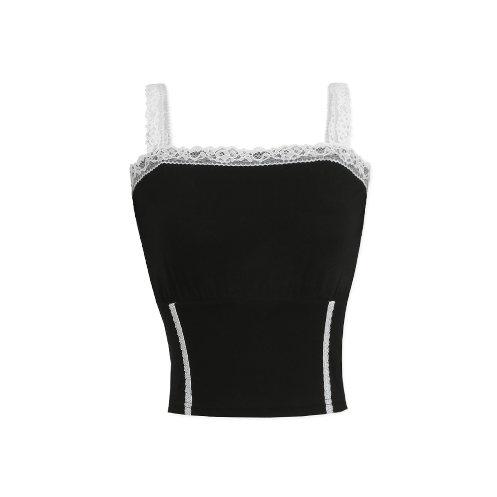 [NTNY-241] MIRAGE LACE SLEEVELESS (Black)