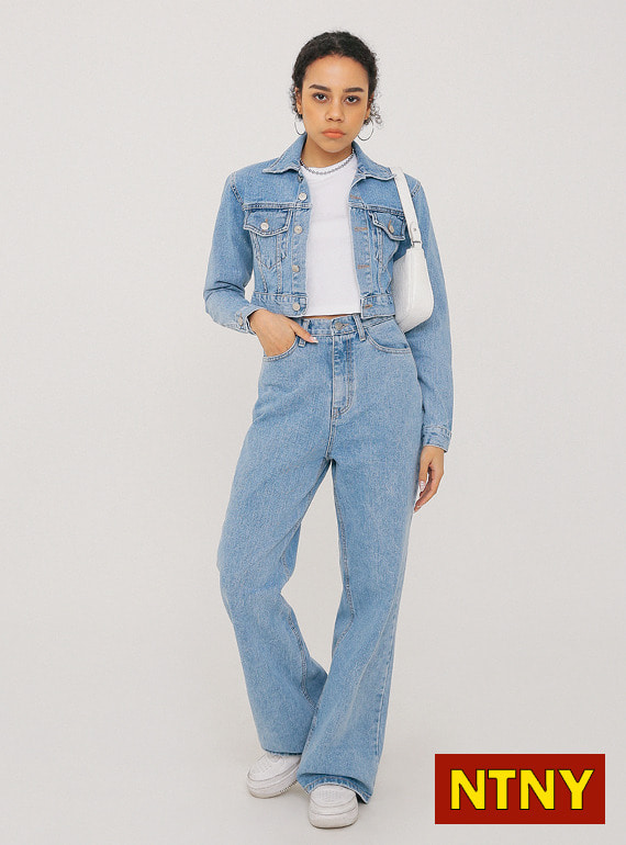 [NTNY-229] HADID DENIM SET - PANTS