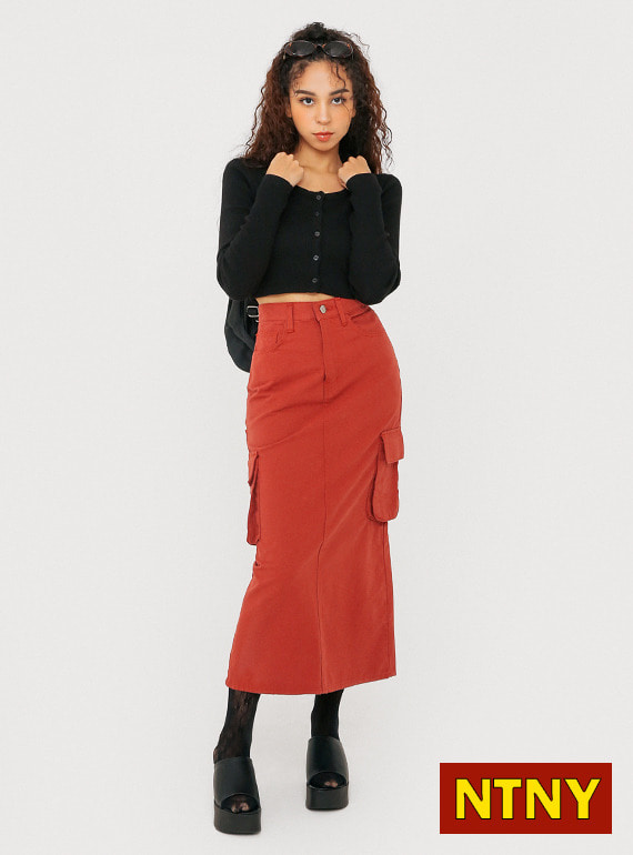 [NTNY-207] SASSY POCKET LONG SKIRT